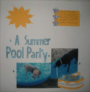 A Summer Pool Party