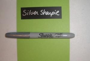Silver Sharpie
