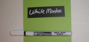 White Marker