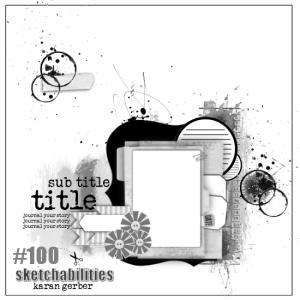 #100 Sketchabilities