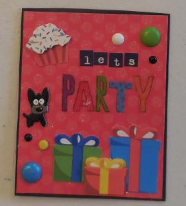 Let's Party PL Card
