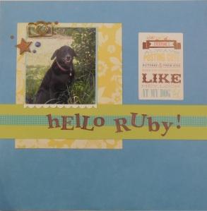 Hello Ruby!