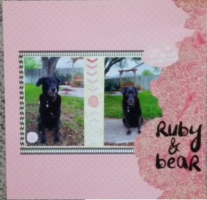 Ruby and Bear