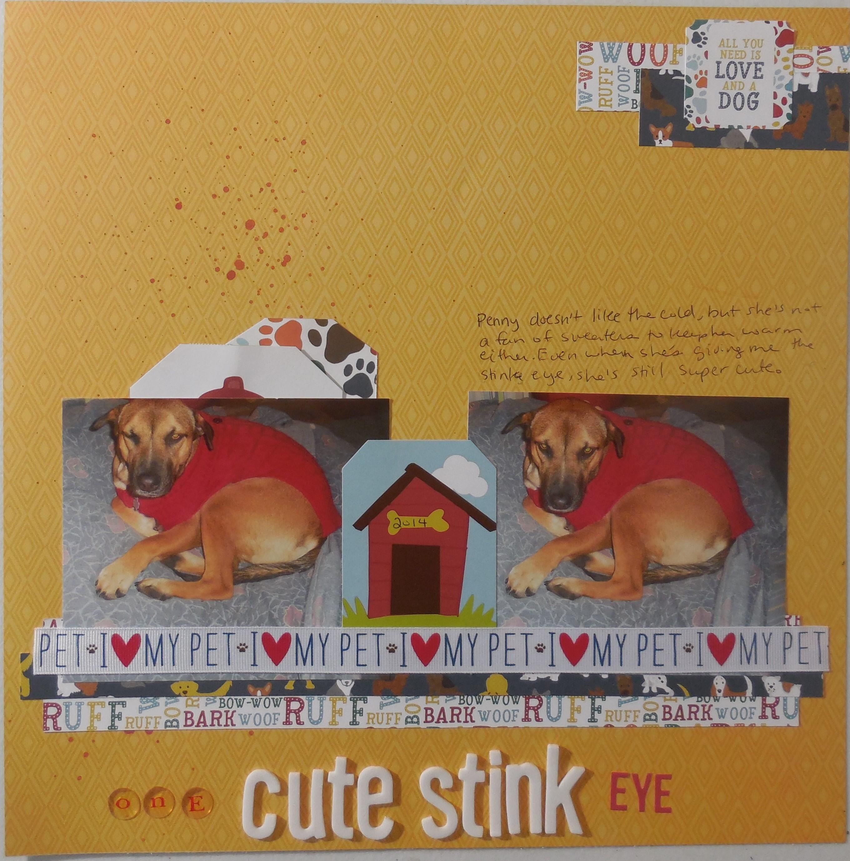 One Cute Stink Eye